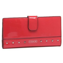 Coach Original Cartera Rojo Brillante.