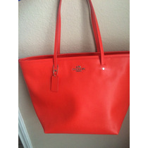 Bolsa Coach Original Color Coral F34103 Sv/co