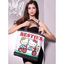 Hello Kitty Bolsa Tote Colección Besties Sanrio Loungefly