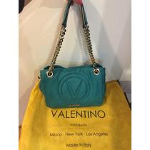 Bolsa Valentino Super Suavecita De Piel 100% Original!!!