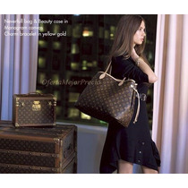 Bolsa Louis Vuitton Neverfull Mm C/cartera Ticket Factura Lv