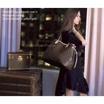 Bolsa Louis Vuitton Neverfull Mm C/cartera Ticket Factura Lv
