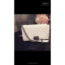 Bolsa Chanel Blanca