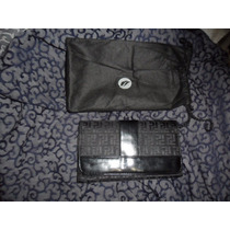 No Limpia D Closet Cartera P/dama Zafiroo Negro/animal