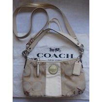 Coach Signature Stripe 17439 Crossbody