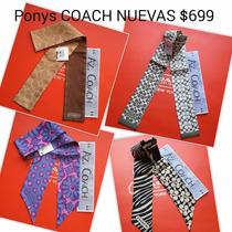 Mascada O Pony Tail Y Bolsas Coach.bolsas Michael Kors.az