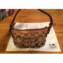Bolsa Coach Signature Piel Fina Shoulder Bag 100% Original!!