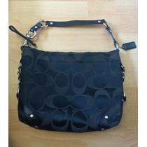 Bella Bolsa Coach Shoulder Bag Signature Negra 100% Original