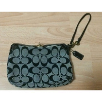 Bolsa Clutch Monedero Coach Signature Patent Leather!!!