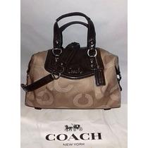 Coach Ashley Dotted Op Art 20027 Original