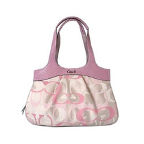 Coach Signature Optic Lexi Canvas #f18826 Pink Unica!!!