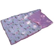 Sleeping Bag Bolsa Dormir Flores Caballos Para Niñas Nuevo