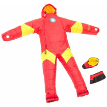 Selk Bag Sleeping Traje De Dormir Acampar Iron Man Talla Xl
