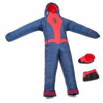 Selk Bag Sleeping Traje Bolsa De Dormir Acampar Spider Man