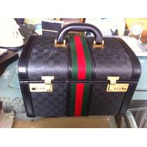 Neceser Gucci Original Unico Dificil De Conseguir