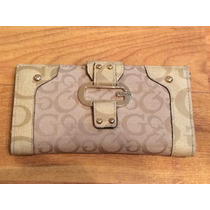 Bolsa Cartera Guess Beige 100% Original!!
