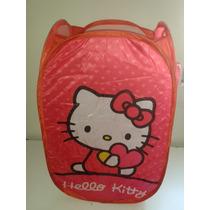 Cesto Organizador De Ropa Hello Kitty!