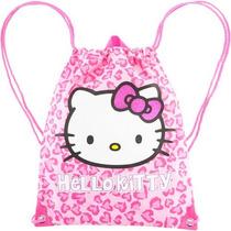 Bolsa Mochila Morral Hello Kitty! Dos Modelos, Oferta