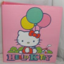 Carpeta De Hello Kitty Original De Tres Anillos! Nueva