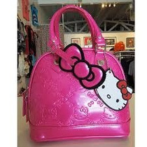 Bolsa Hello Kitty Rosa Original! Padrisimaaa