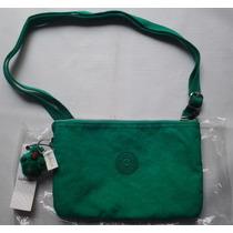 Kipling Bolsa Original Modelo Mikki Verde $750 Pesos - Nueva