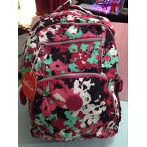 Mochila Backpack Kipling Rosa
