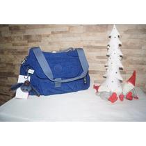 Bolso Kipling Original Modelo Fairfax Azul
