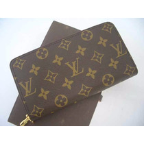 Ultraglam Cartera Louis Vuitton Doble Zippy Entrega Inmedia