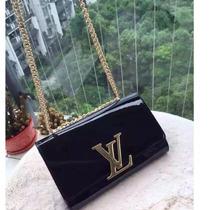 Bolsa Louis Vuitton De Charol Negra