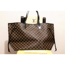 Bolsa Louis Vuitton Neverfull Grande Con Factura Lv
