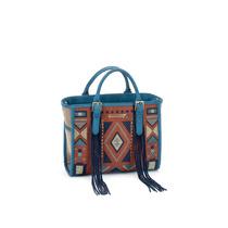 Bolsa Corazon De Melon / Tefi Tule Azul