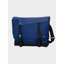 Victorinox Messenger Bag Color Azul Muy Práctica Y Útil !!!