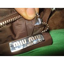 Bolsa Miu Miu By Prada Seminueva 100% Original Ganala Ya¡¡¡