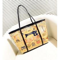 Hermosa Bolsa Moda Japonesa Diseñadora Hm4