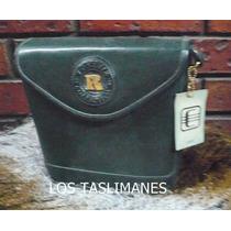 Bolsa Verde De Piel Collection Rosanie