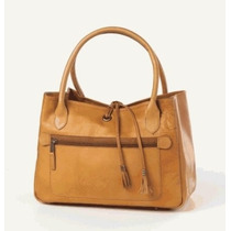 Bolsa Clava - Tassel Handbag- Tan Ifs Femenino