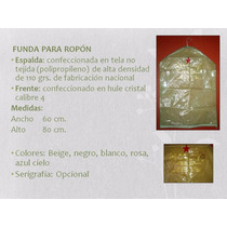 Funda Mediana Para Ropón De Bautizo