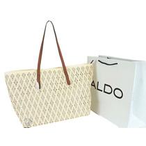 Bolsa Aldo - Tote - Labrado En Flores - Importada