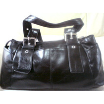 Bolsa De Mano Reaction Kenneth Cole Negra