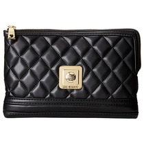 Love Moschino Quilted Negro