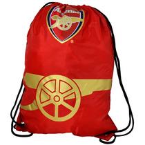 Bolsa De Deporte - Arsenal Foil Imprimir Oficial De Fútbol