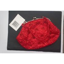 Bolsa Elegante Roja Coctel O Formal