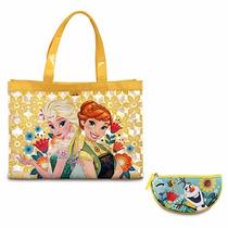 Bolsa Para Playa Frozen Fever Niña Disney Store 2016