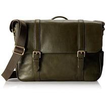 Bolsa Saffiano Leather En Cuero Fossil -verde