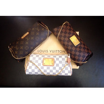 Louis Vuitton Eva Clutch Pochette Ebene Azur Monogram