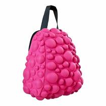 Lonchera Térmica Crazy Pax Bolsa Rosa Bubbles Burbujas Blox