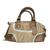 Bolsa Coach Ashley Espectador Leather Satchel Femenino