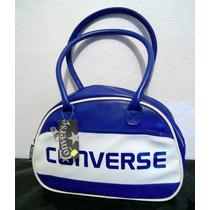 Bolsa Converse Original Deportiva Color Azul/blanco