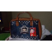 Bonita Bolsa Original De Betty Boop A Un Super Precio