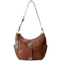 Bolsa Americana Zip West Señora Lace Top Everyday Bolsa De